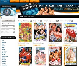 DVD Movie Pass! Busty fat DVD porn! Chubby girls w big tits gets fucked