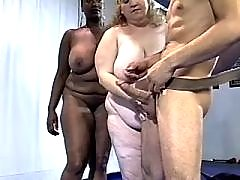 Lovely fat woman shows perfect tight fuck