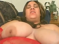 Blackie fucks horny megabusty fatty