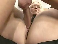Chubby vixen gets massive nailing