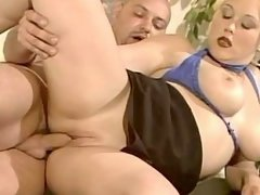Fast and sweaty sex with mature bbw